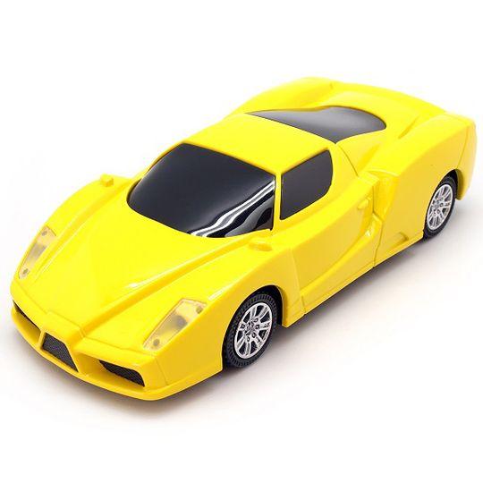 Внешний аккумулятор Power Bank Ferrari (Желтый)