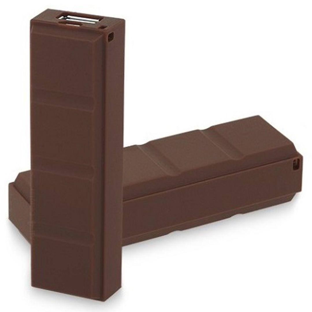 Внешний аккумулятор Power Bank Шоколадка В комплекте только один аккумулятор