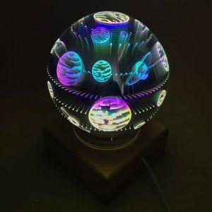 USB Ночник Магический шар Галактика