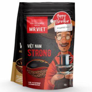 Новогодний набор кофе Mr.Viet (2 шт по 75 г)