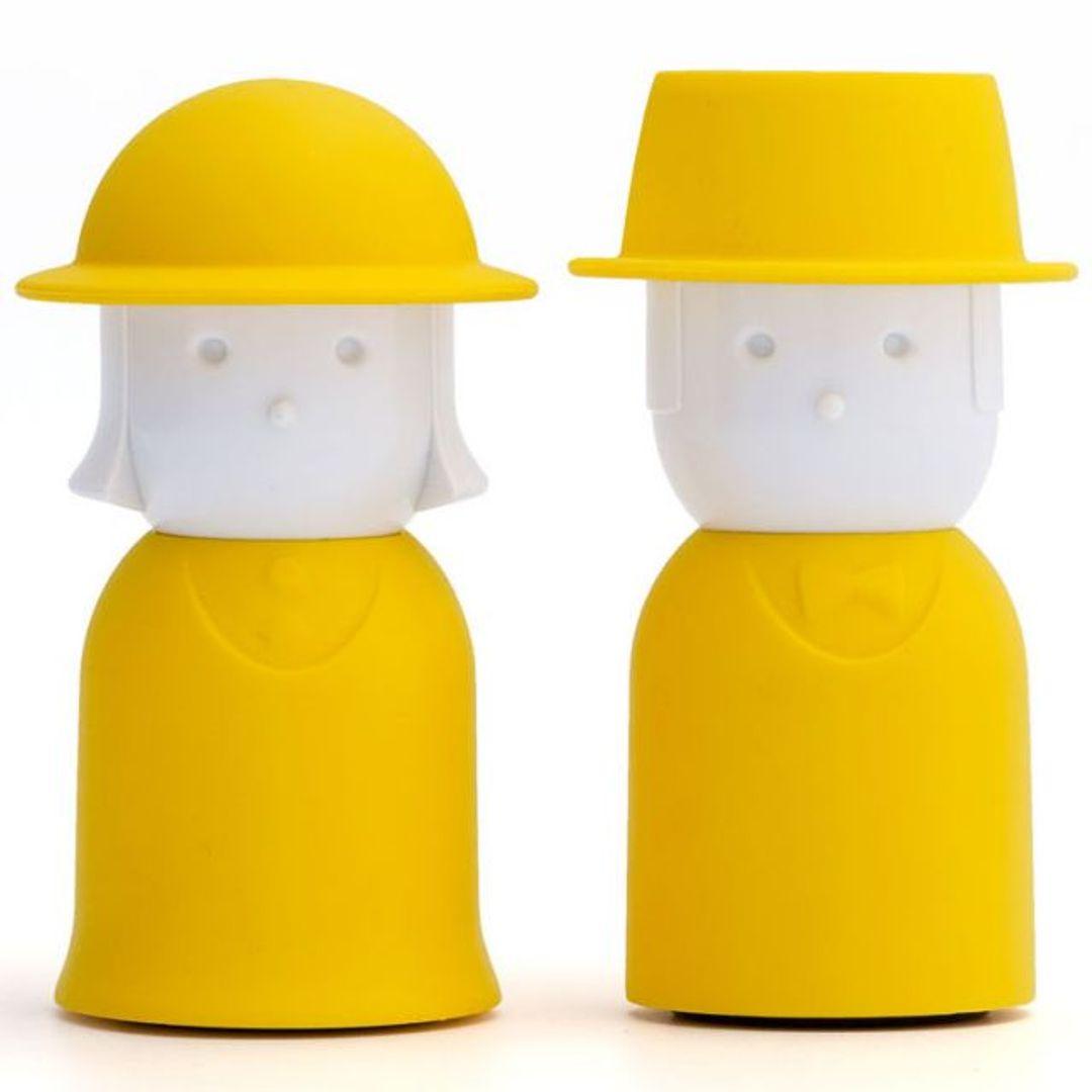 Солонка и перечница Mrs. Salt & Mr. Pepper (Желтый)