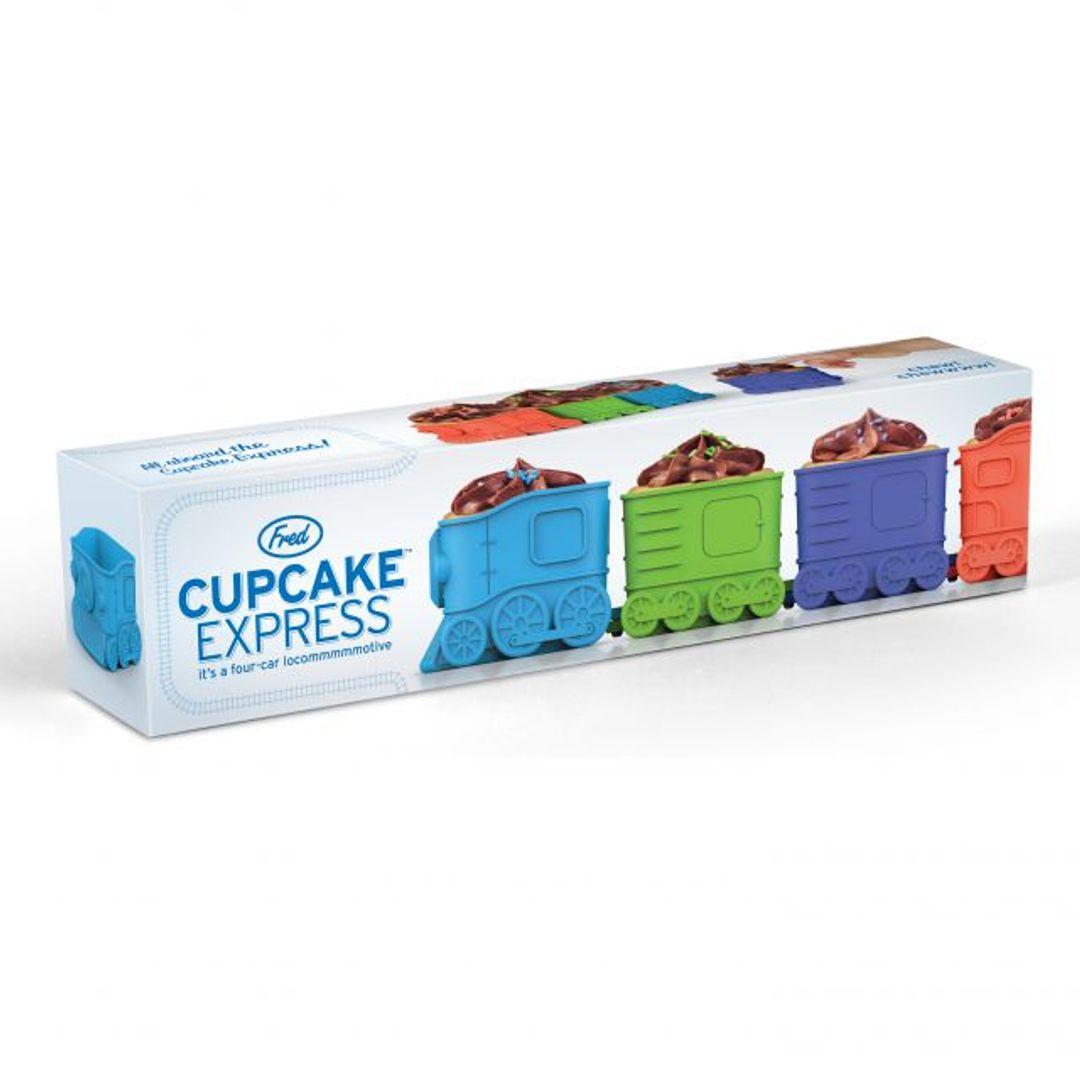 Форма для выпечки Паровоз Cupcake Express