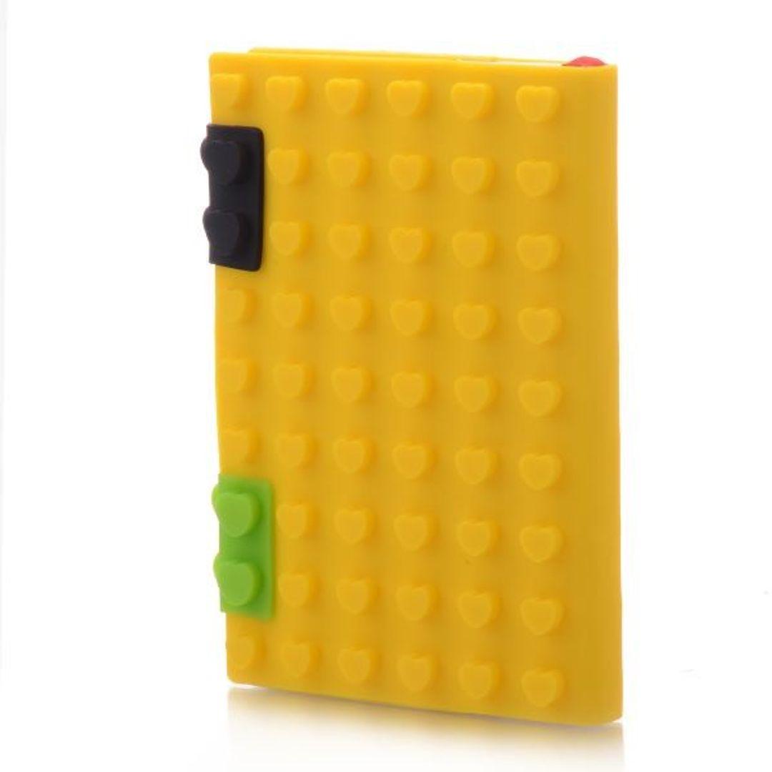 Блокнот Лего Маленький Желтый, сердечки