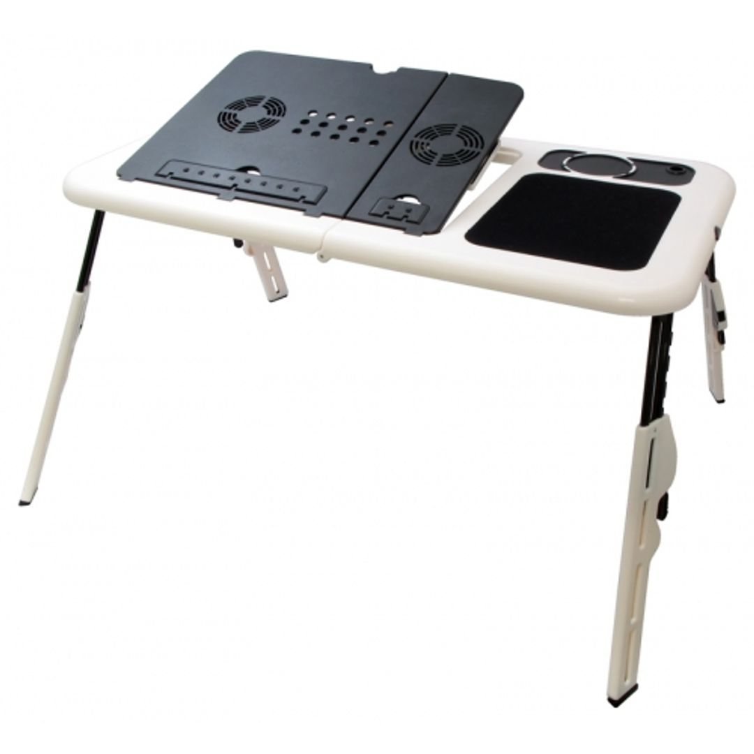 Раскладной столик для ноутбука с вентилятором E-Table
