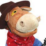 Музыкальная игрушка Конь Ковбой-гитарист Голова