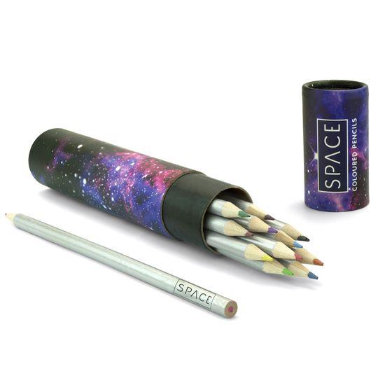 Набор цветных карандашей Космос Space (12 шт.)
