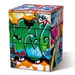 Складной картонный табурет Graffiti