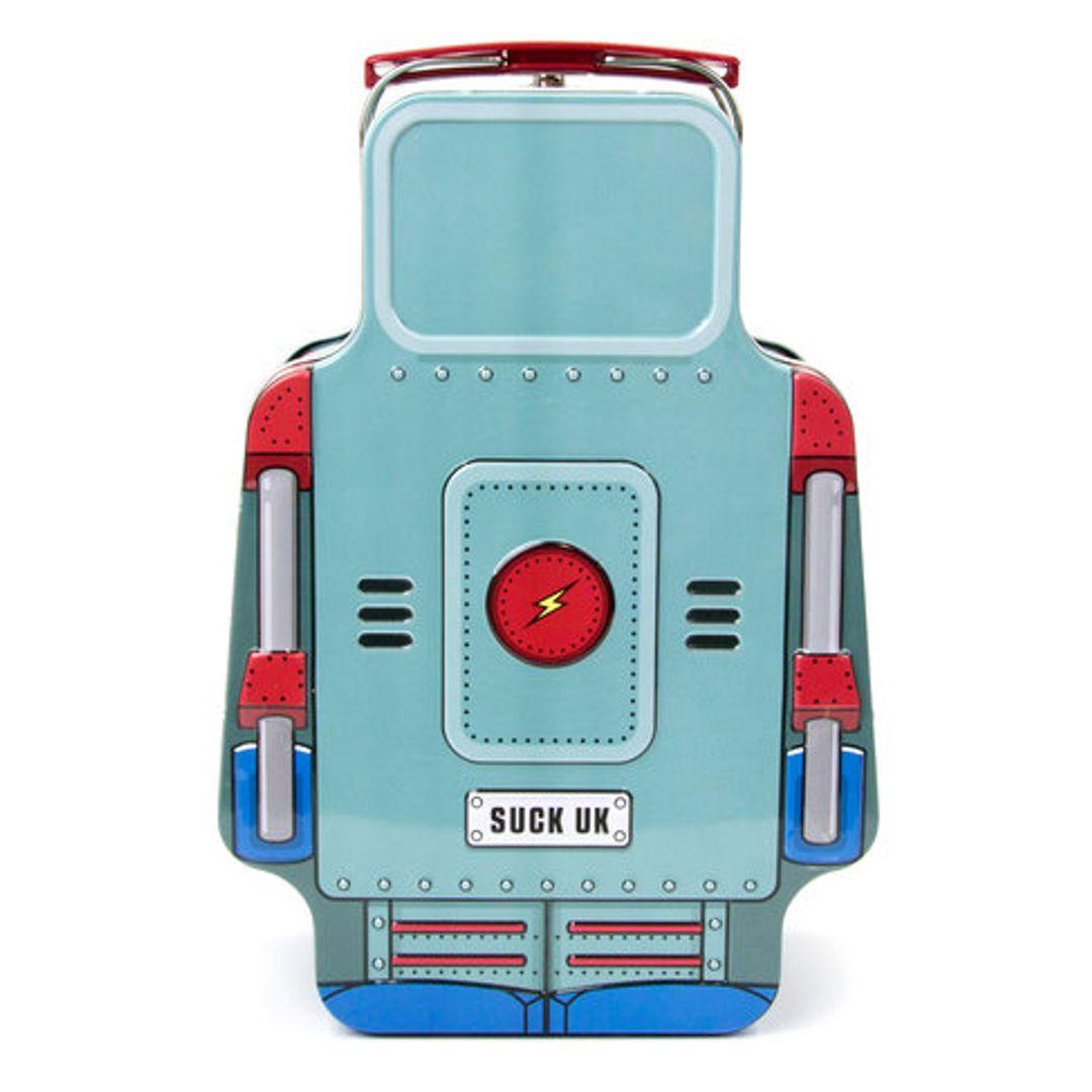 Ланч-бокс Робот Robot Рисунок сзади
