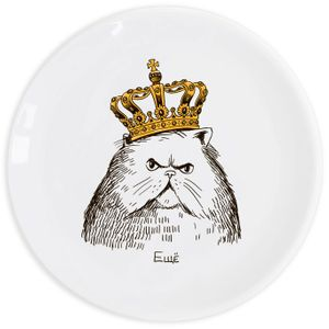 Тарелка Кот в короне Еще