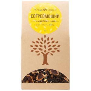 Согревающий чай (кэроб, имбирь, корица) (75 г)