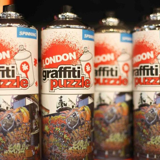 Пазл Граффити Лондон