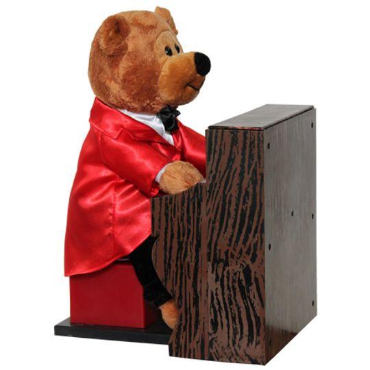Музыкальная игрушка Медвежонок Пианист Сбоку