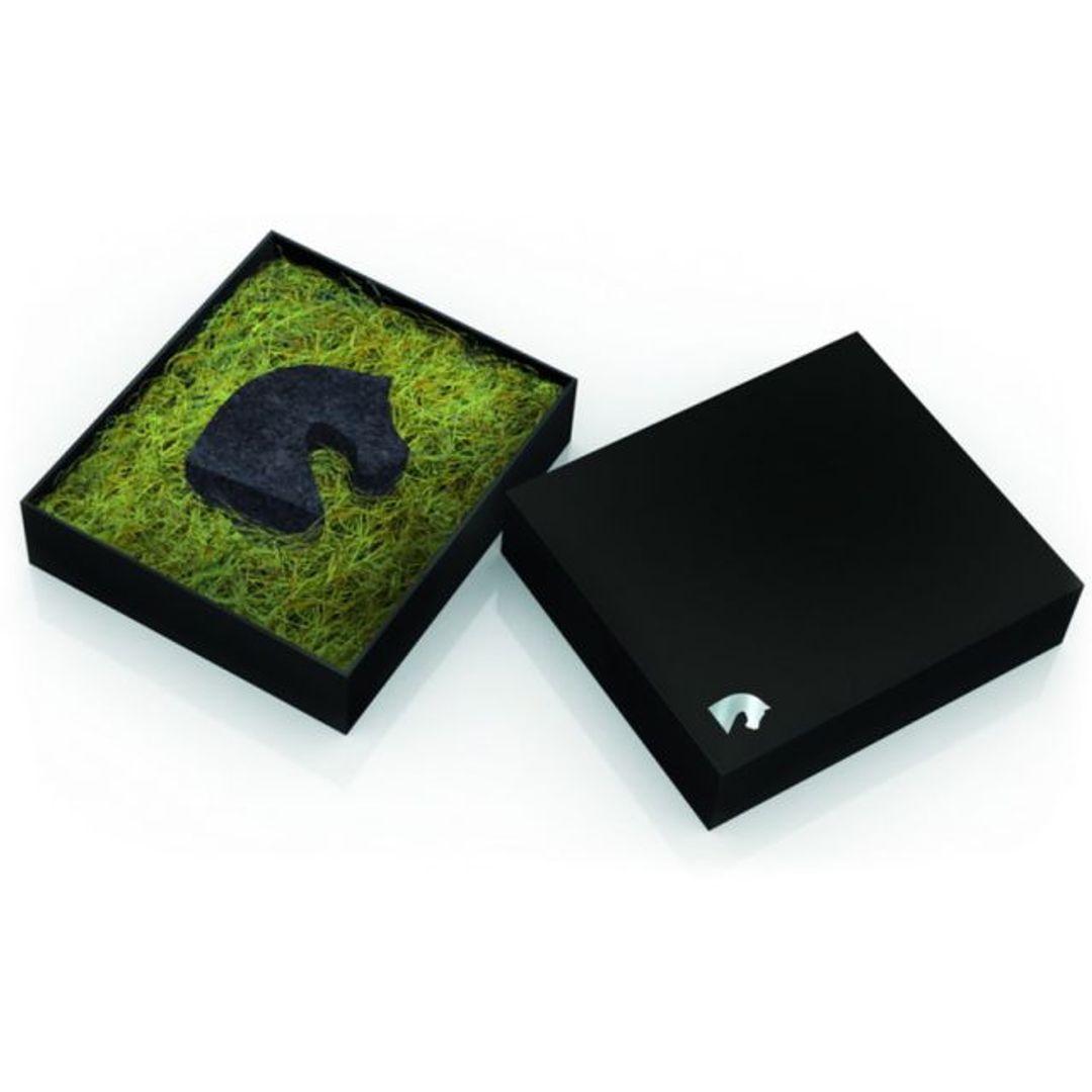 Флешка Конь 8 Гб (Черный) Упаковка
