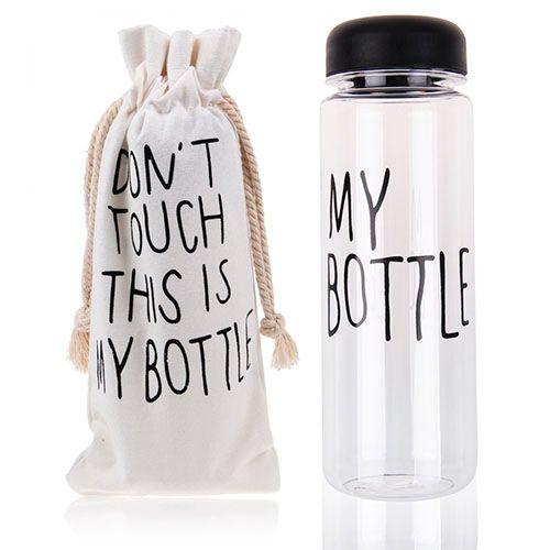 Бутылочка 450 мл<br>My Bottle<br>с чехлом на завязках