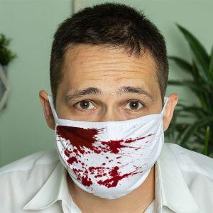 Кровавая маска на лицо