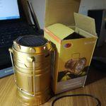 Кемпинговый фонарь-светильник с солнечной батареей Camping Lantern Отзыв