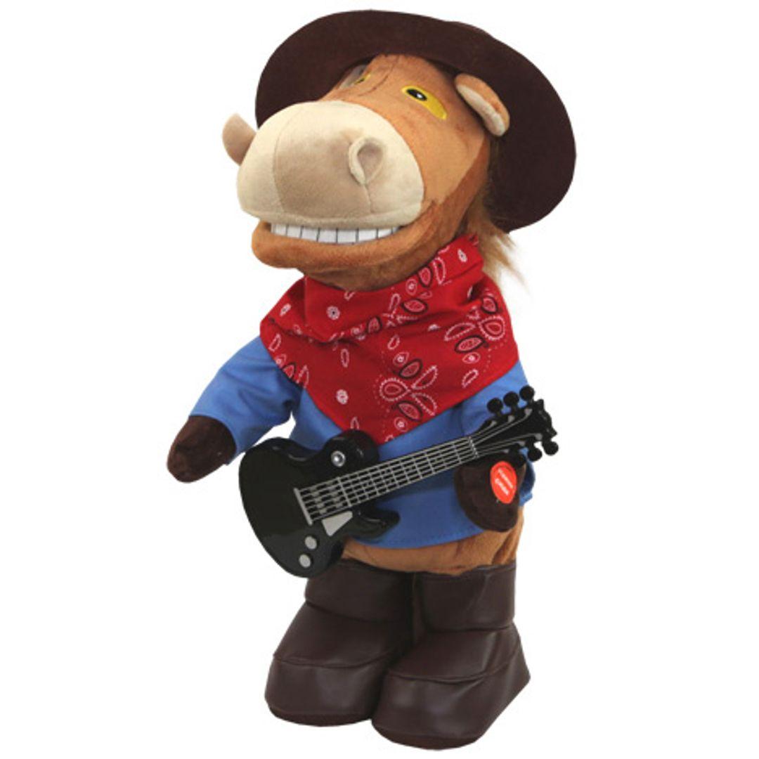 Музыкальная игрушка Конь Ковбой-гитарист