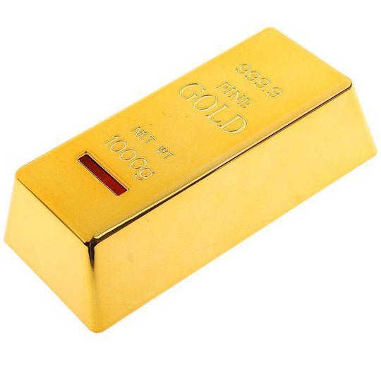 77ae9b798 Копилка Слиток золота купить по цене 490 руб. в интернет-магазине ...