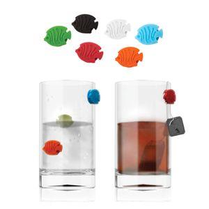 Маркеры для стаканов Аквариум (6 шт)
