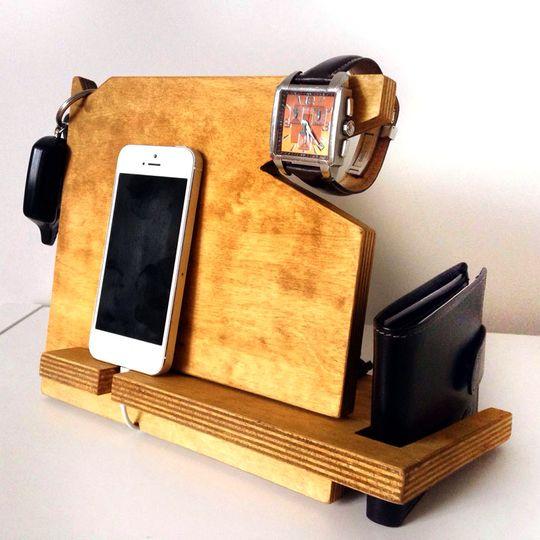 Подставка-органайзер для гаджетов Masterded (Дуб) Все нужное под рукой