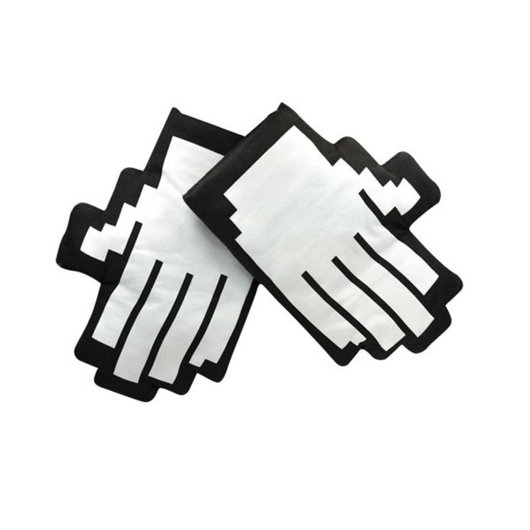 Варежки-прихватки для горячего Пиксели