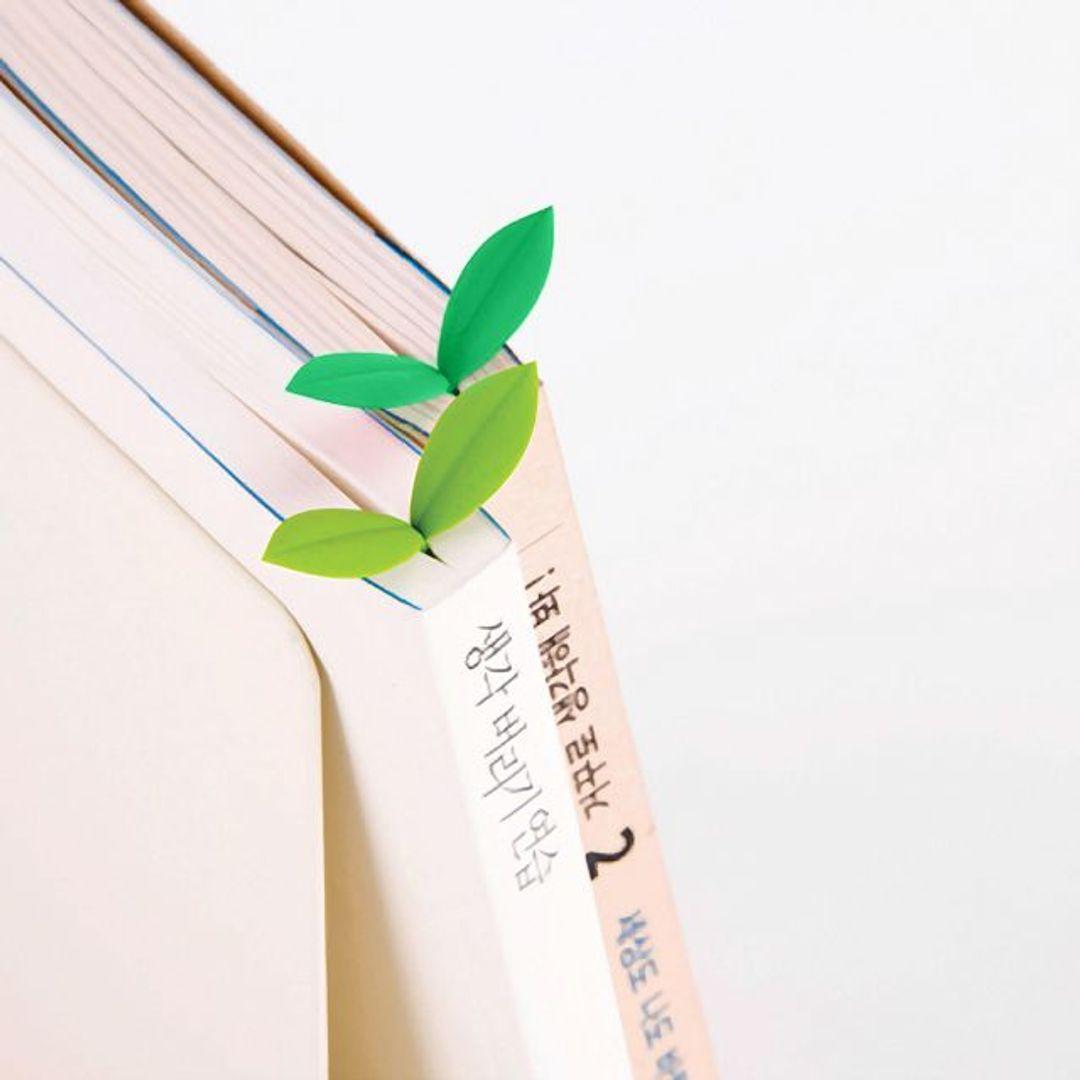 Закладки для книг Листочки Sprout