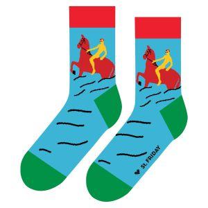 Носки Купание красного коня
