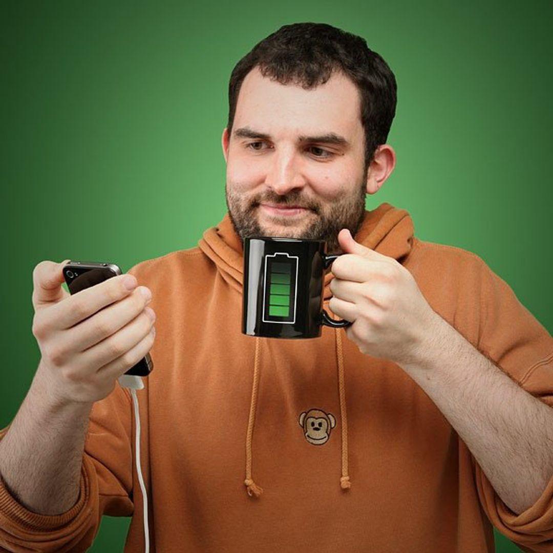 Термокружка Батарейка В жизни
