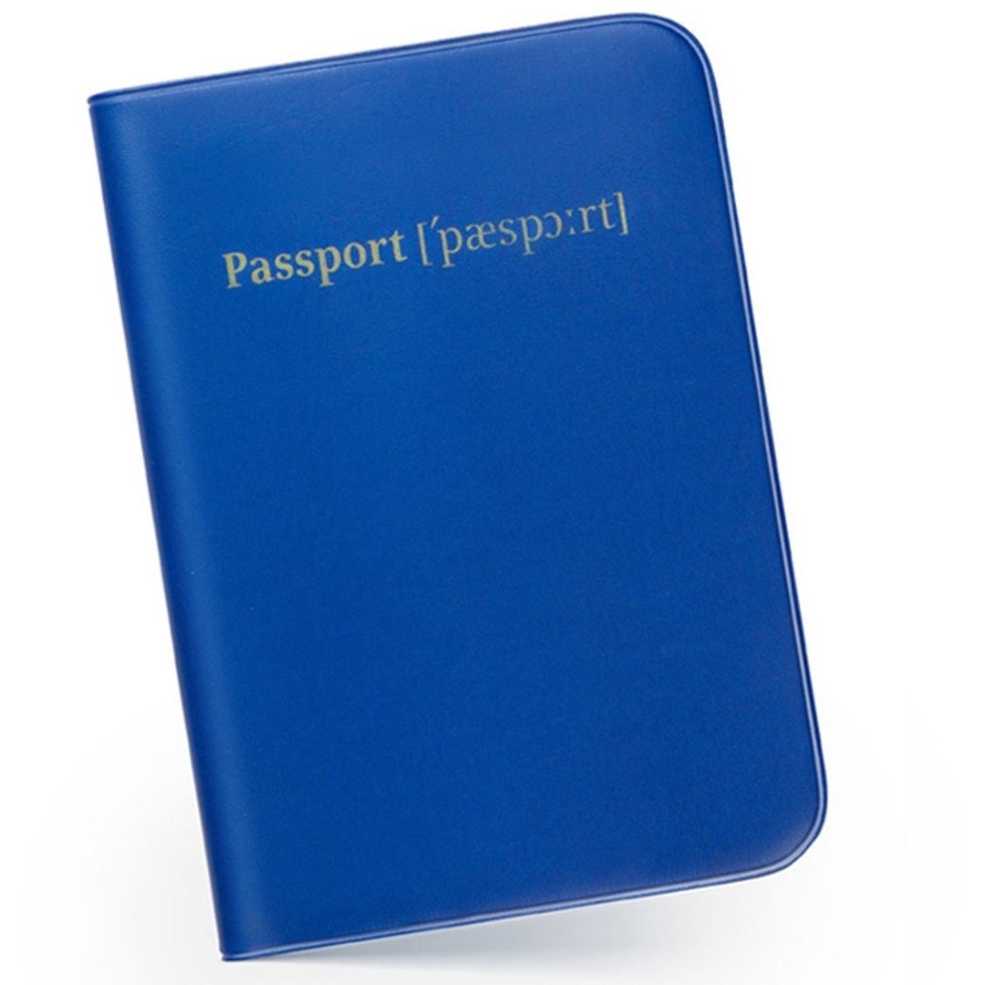 Обложка для паспорта Транскрипция