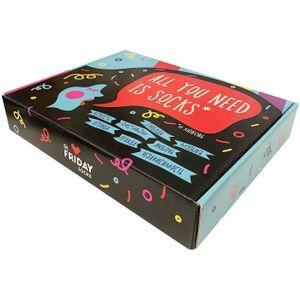 Подарочная коробка для носков St. Friday (9 пар)