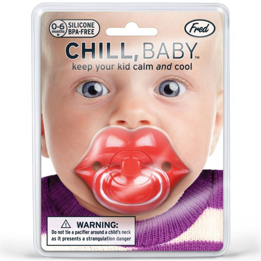 Соска-пустышка Губы Chill, Baby