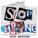 Бумажный Бумажник Mighty Wallet Stop Shopping