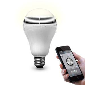 Светодиодная лампочка с bluetooth-динамиком Playbulb