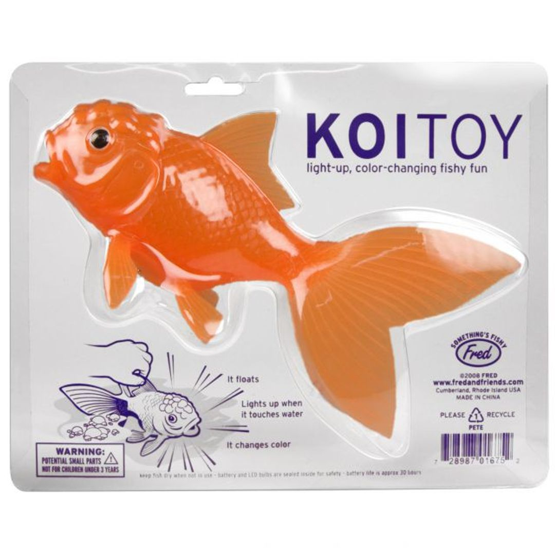 Светильник для ванной Рыбка KoiToy