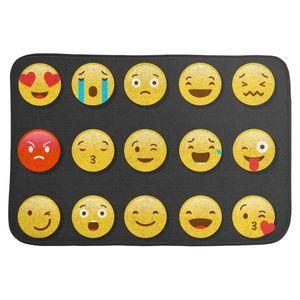 Коврик для входной двери Emoji