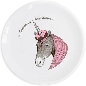Тарелка Единорог Волшебные вкусняшки