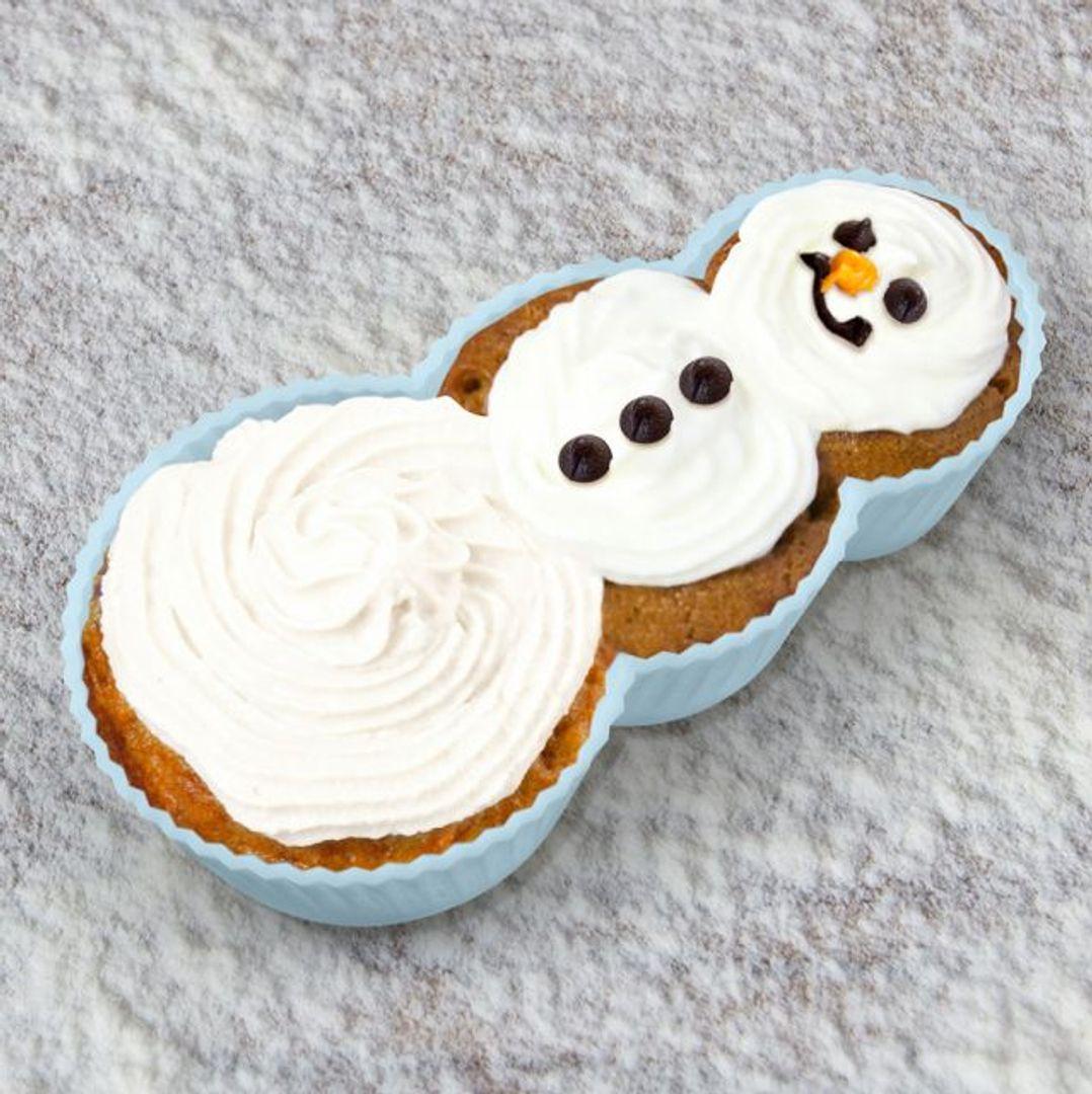 Форма для выпечки Снеговик Frosted