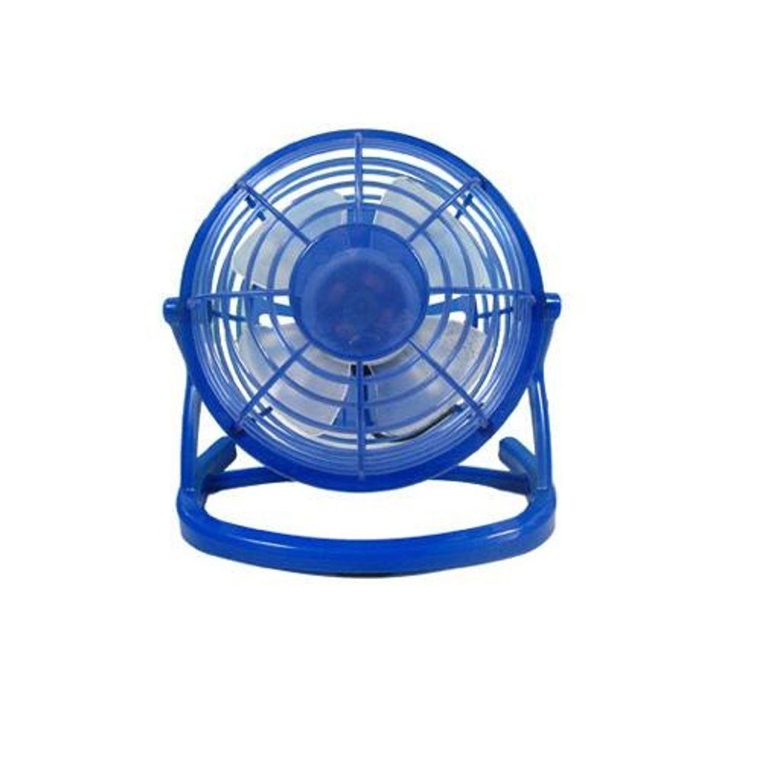 USB Вентилятор Настольный Синий