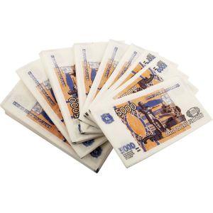 Салфетки Купюра 5000 рублей