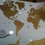 Скретч-карта мира (увеличенная версия) Отзыв