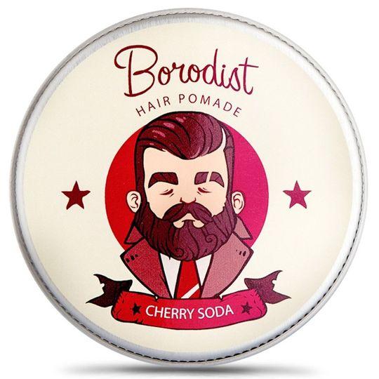 Бриолин для волос Borodist Cherry Soda