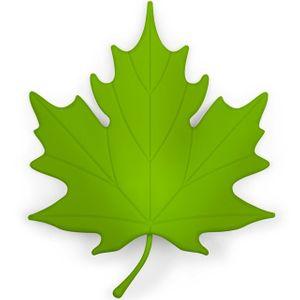 Стоппер для двери Кленовый лист Loose Leaf
