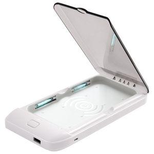 Стерилизатор для смартфона с беспроводной зарядкой UV Phone Sterilizer