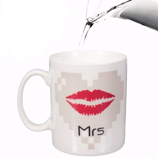 Термокружка Горячее сердце Mrs