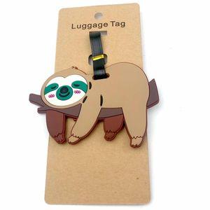 Бирка для багажа Ленивец