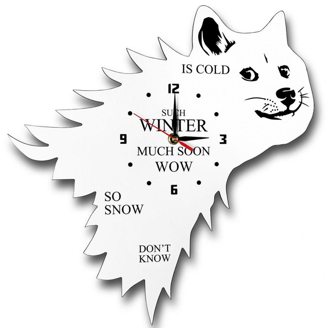 Часы настенные Зима близко