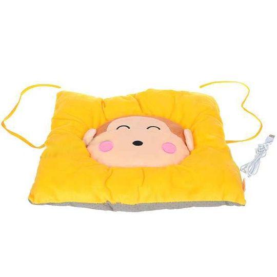Подушка с подогревом от USB Обезьянка