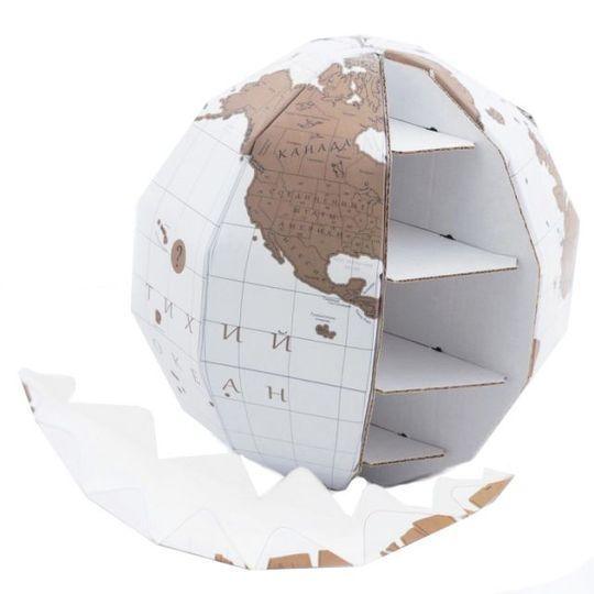 Скрэтч-глобус True World (на русском)