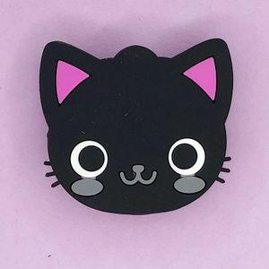 Попсокет Черная кошка Cat