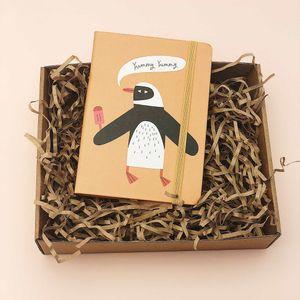 Блокнот Penguin (A6)